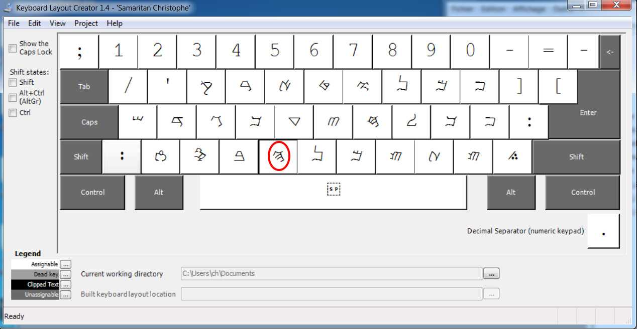 JIM RIDOLFO | Samaritan Keyboard for OSX, Windows, and Linux